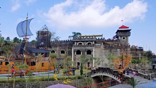 merapi top attraction the lost world castle