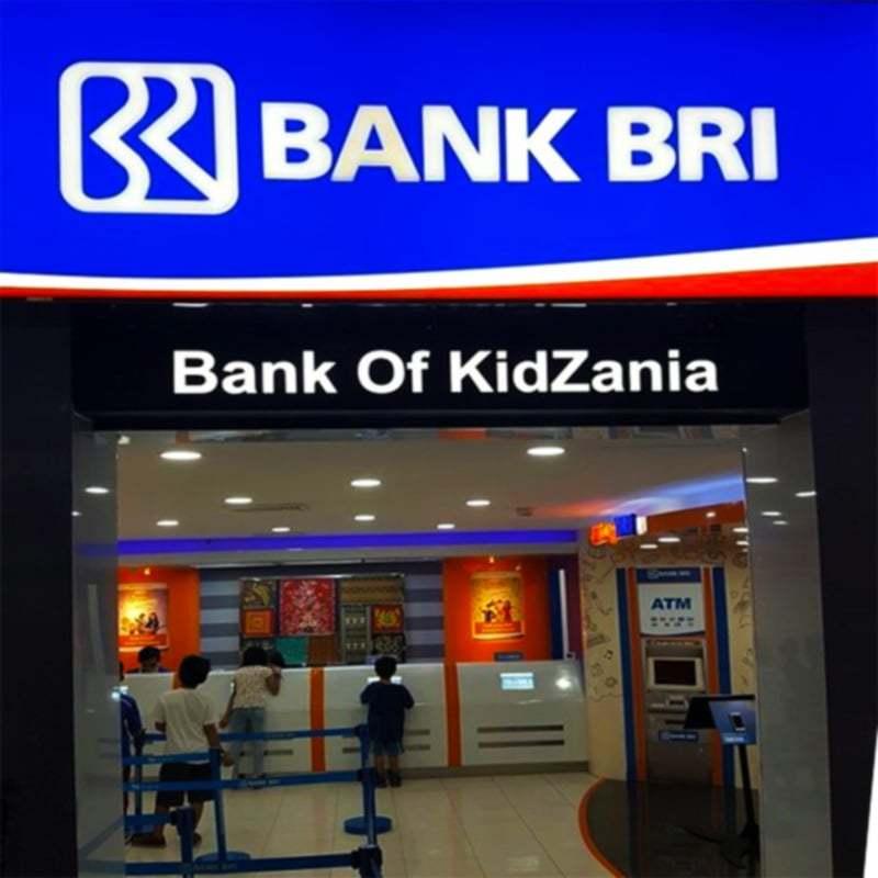Kidzania Bank BRI