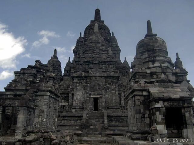 holiest zone in prambanan temple