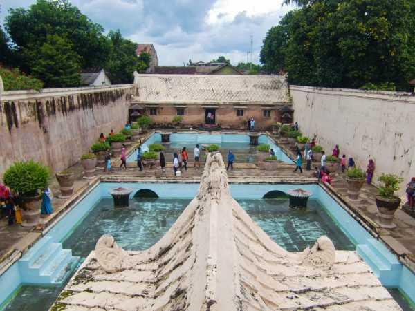 Kolam Pemandian Taman Sari Yogyakarta