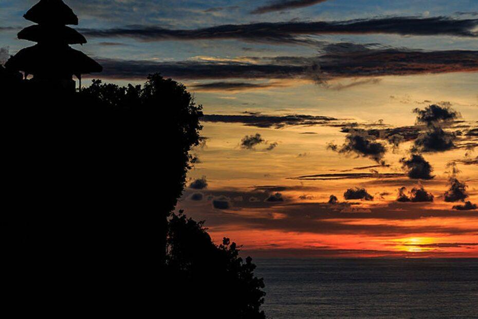 Sunset at Uluwatu Temple