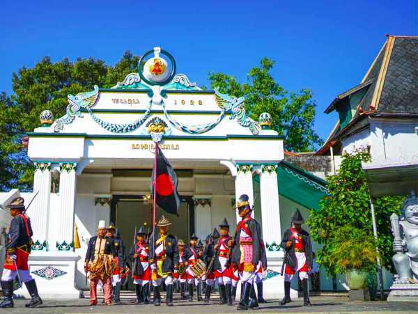 Parade and Event at Yogyakarta Palace