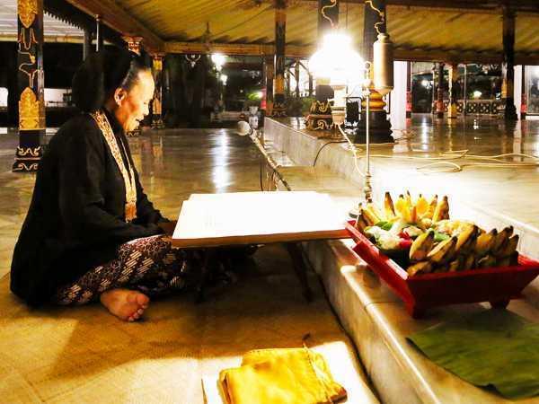 Tradition in Yogyakarta Palace