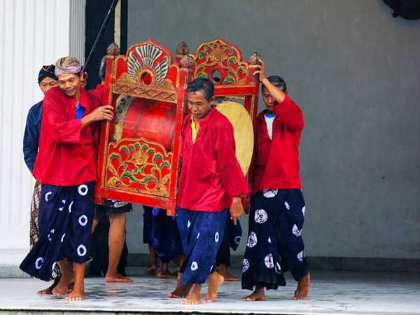 Music Instrument Yogyakarta Palace