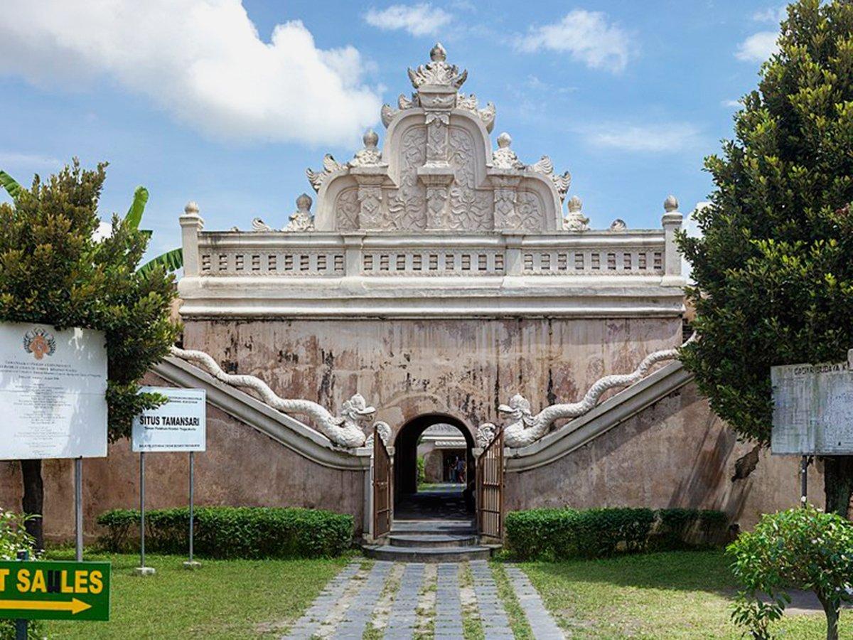 Taman Sari Yogyakarta Entrance Fee Attraction 2018 Indonesia Travel Explore Jogja