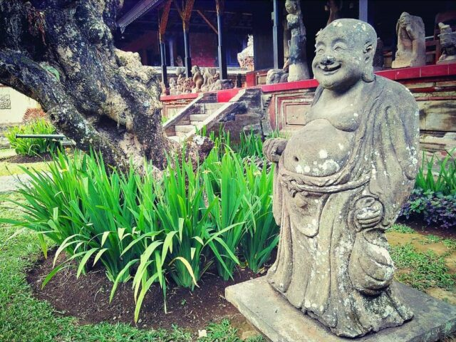 Chinese Statue in Bali Provincial State Museum