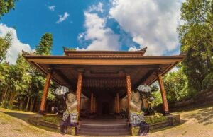 ARMA Museum with the classic Balinese style.