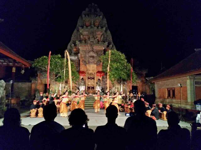 Peliatan Royal Palace Dance Performance