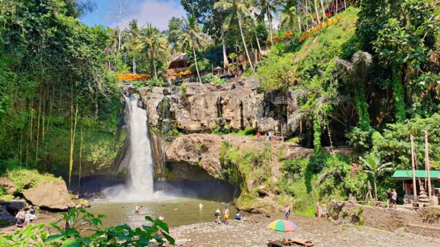 tegenungan waterfall landscape
