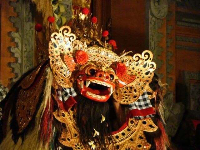 Tari Barong Istana Ubud