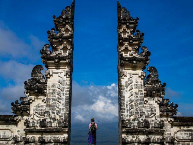 Candi Bentar at Penataran Agung Lempuyang Temple