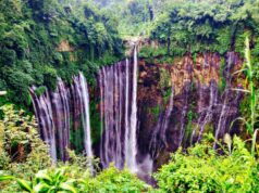 Tumpak Sewu Waterfall From Panorama Spot