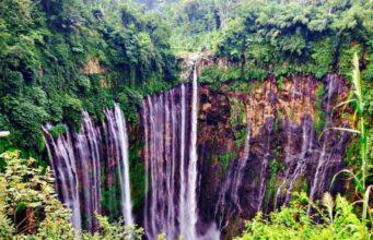 Tumpak Sewu Waterfall From Panorama Spot