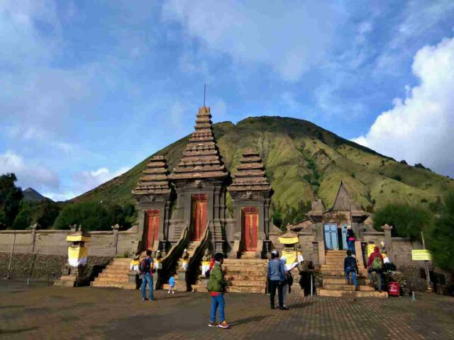 Temple in Bromo