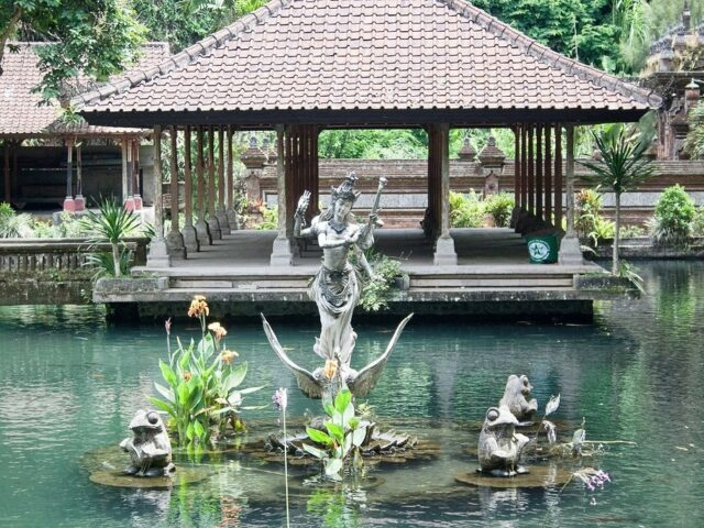 One of the attraction in Gunung Kawi Temple
