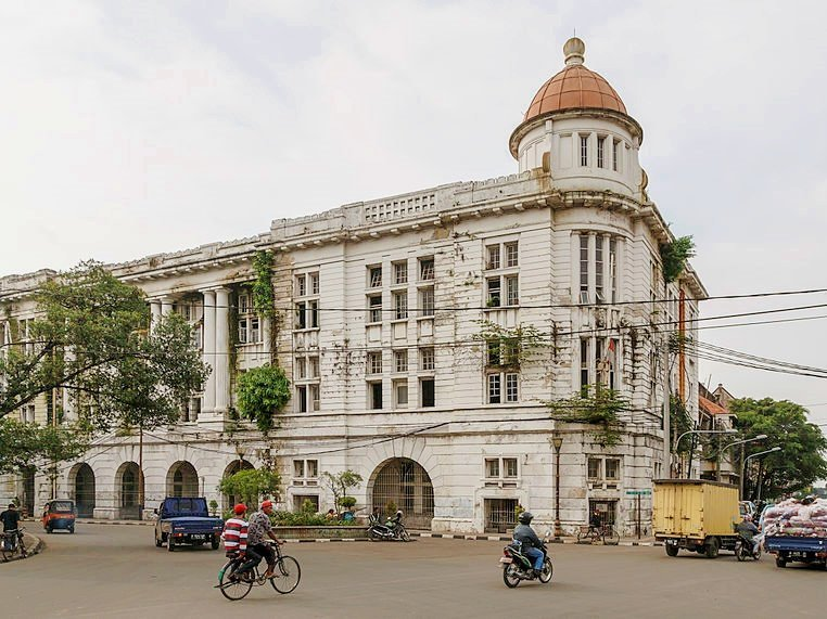 Building Architecture in Jakarta Old Town