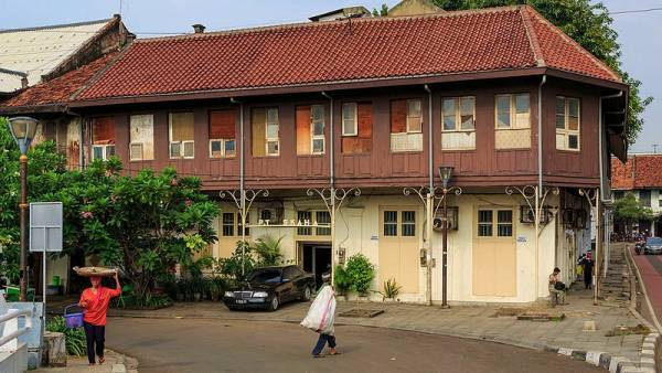 Dutch Colonial Building Old Town Jakarta