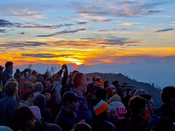 Mount Bromo Sunrise From Penanjakan