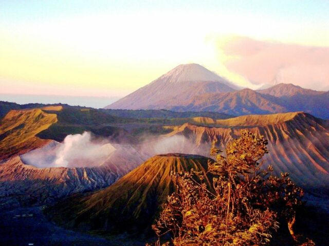 Mount Bromo view from penanjakan