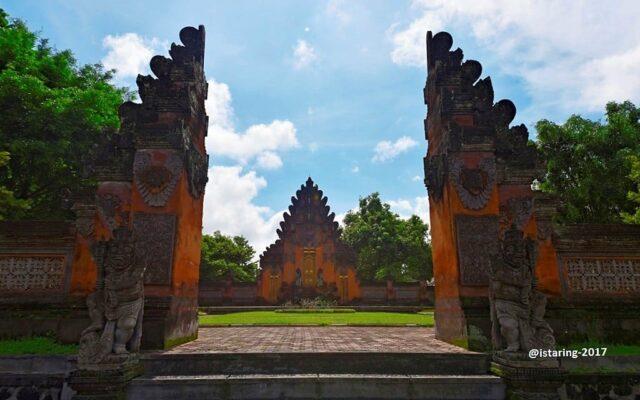 Gelung Kori Agung Tampaksiring Palace