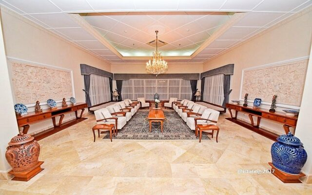 The President Living Room Tampaksiring Palace.