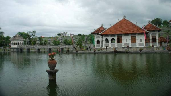 Ujung Water Palace Wide Pond