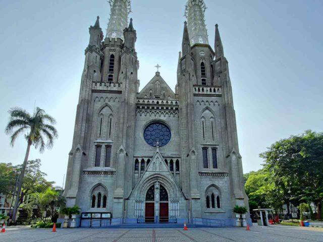 jakarta cathedral gothic design