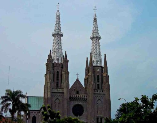 Neo Gothic Design Jakarta Cathedral