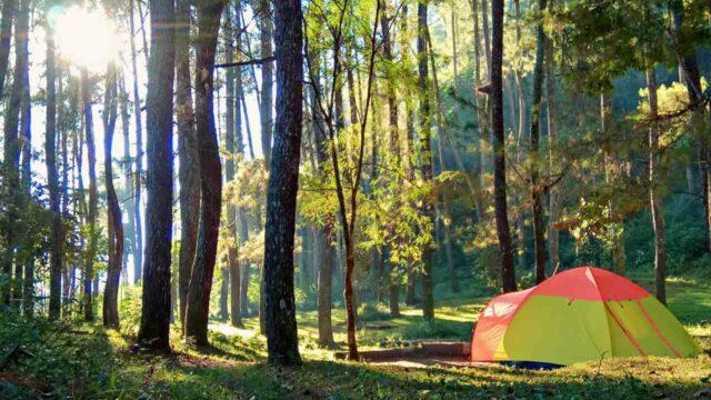 tebing keraton camping ground