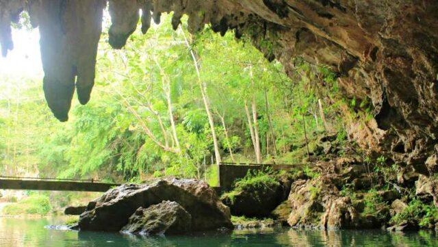 Pindul Cave Wall