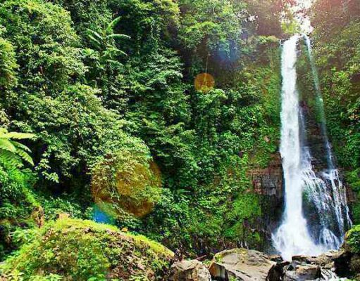 Gitgit Waterfall The Tallest Waterfall