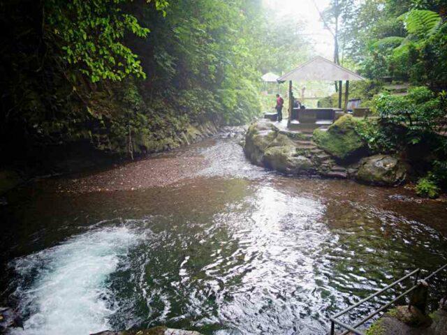 Gitgit Waterfall Gazebo