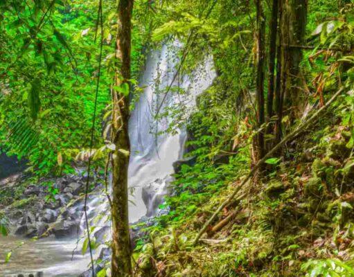 Kanto Lampo Waterfall, Gianyar