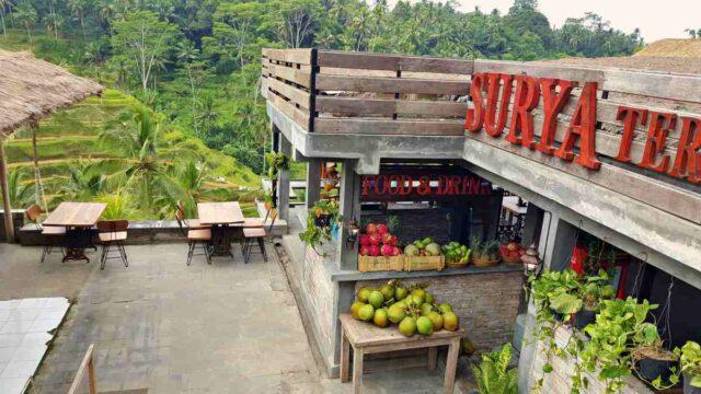 restaurant in tegalalang