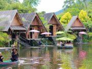 Canoeing, Activity in Dusun Bambu