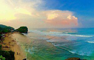 Indrayanti Beach, Yogyakarta