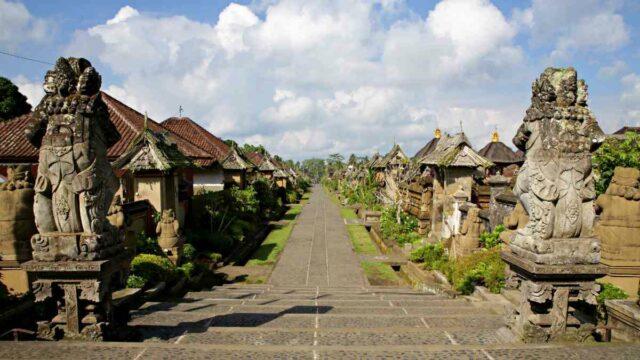 Penglipuran Village, Bangli, Bali.