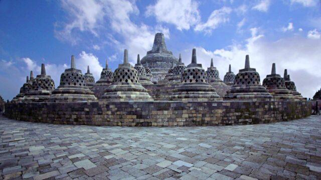Borobudur Temple Arupadhatu Zone