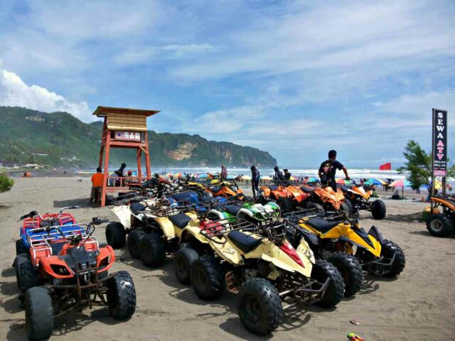 ATV Ride Parangtritis beach