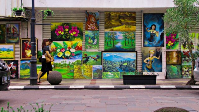 paintings in braga street