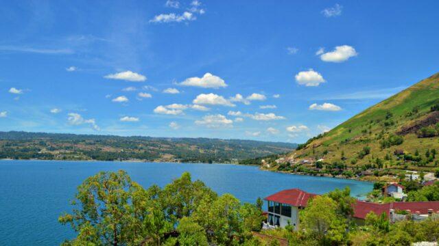 Lake Toba in North Sumatera