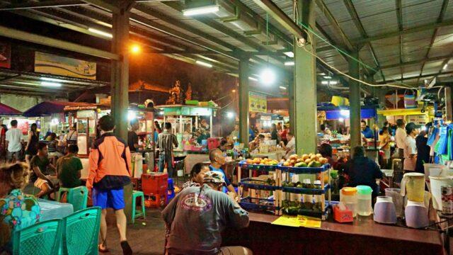 sanur market ambiance