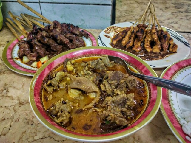 Mutton Curry in Sate Lamongan Jaya Agung