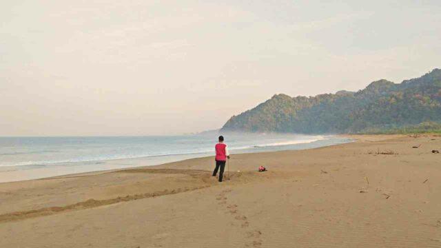 sukamade long shore