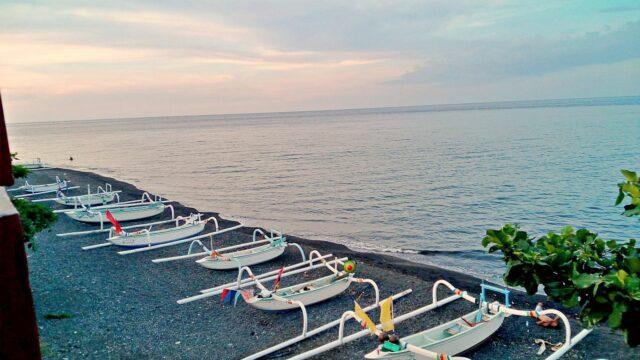 Jukung, the fisherman boat