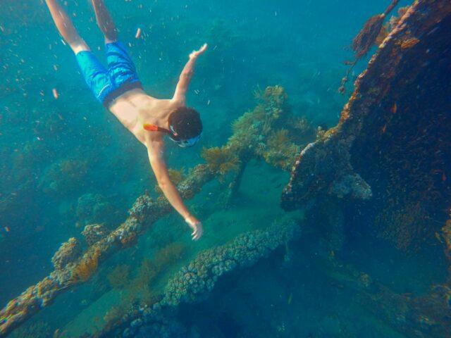Japanese Shipwreck Amed Beach