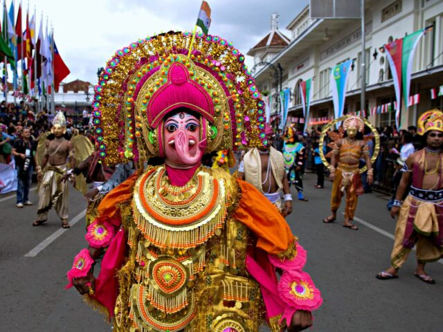 Indian Representative on Asia African Carnaval