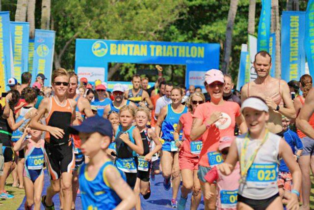 Fun duo run race