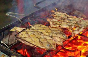 grilled prawn nakula night market