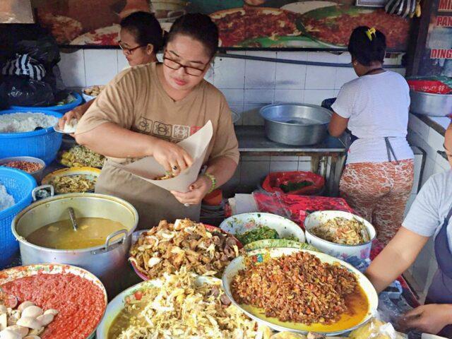 Balinese Nasi Campur Bu Ayu Kreneng